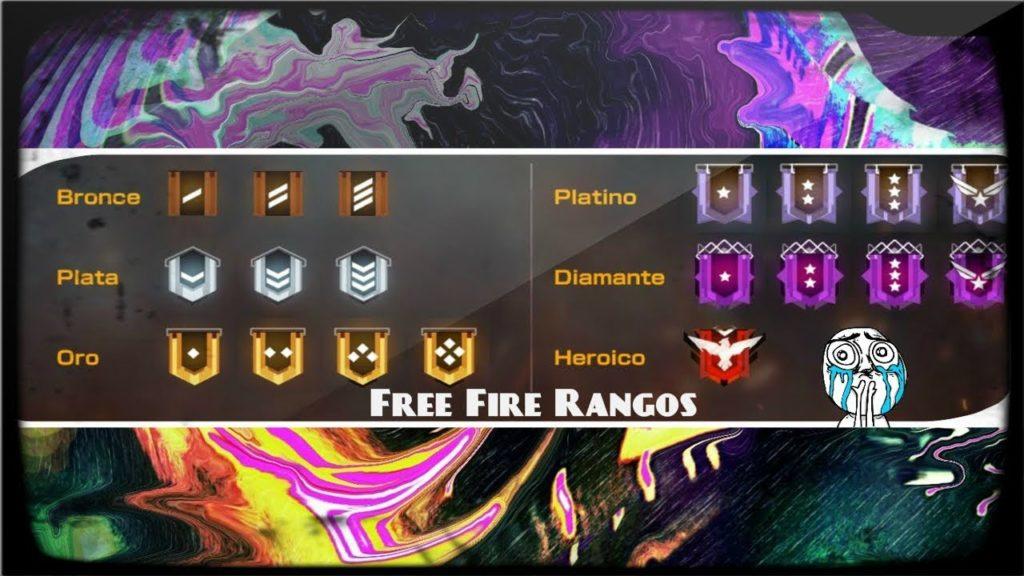 Rangos de Free Fire
