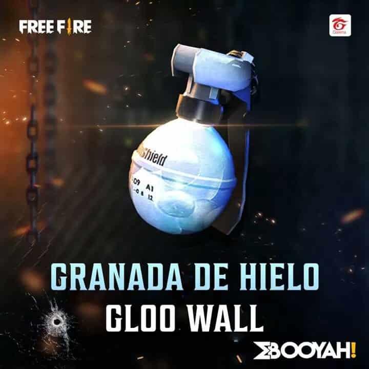 Granada de Hielo Free Fire