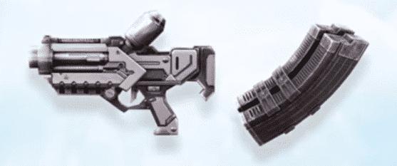 Pistola de hielo Free Fire