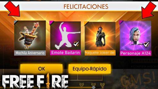 regalos free fire