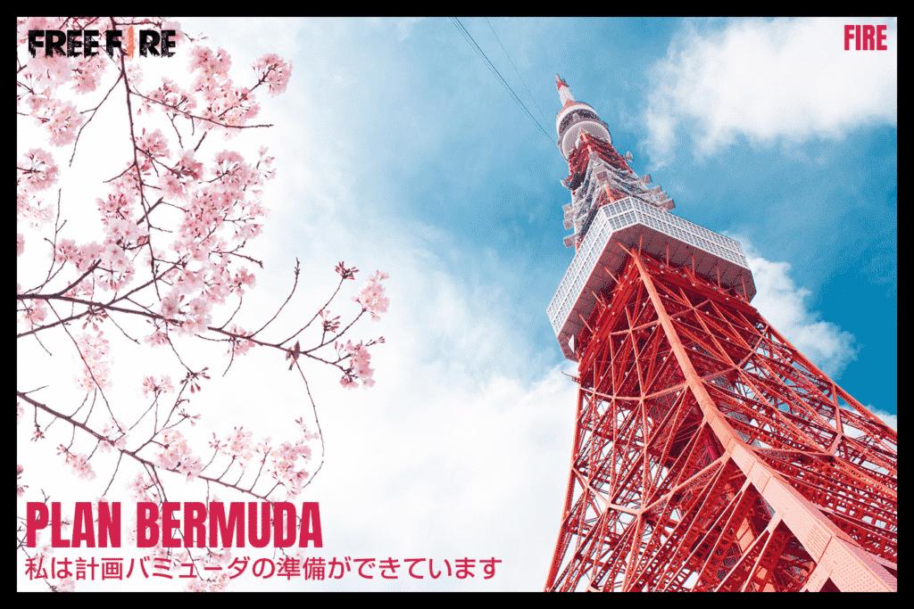 Plan Bermuda Japón Free Fire
